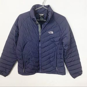 The North Face l Grey Puffer 550 Down Jacket